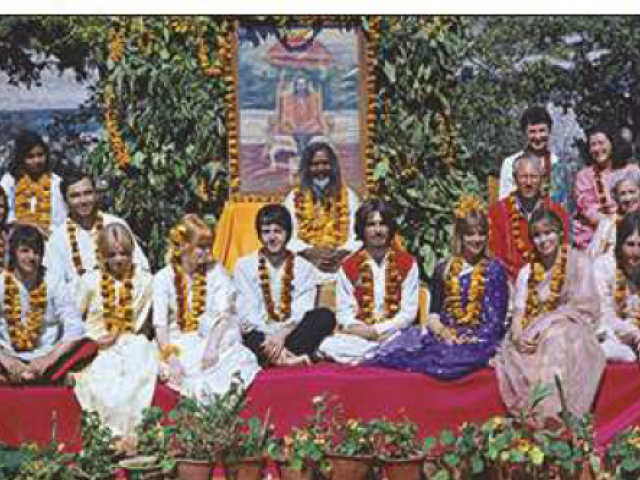 Paul Saltzman - The Beatles in Rishikesh.PNG