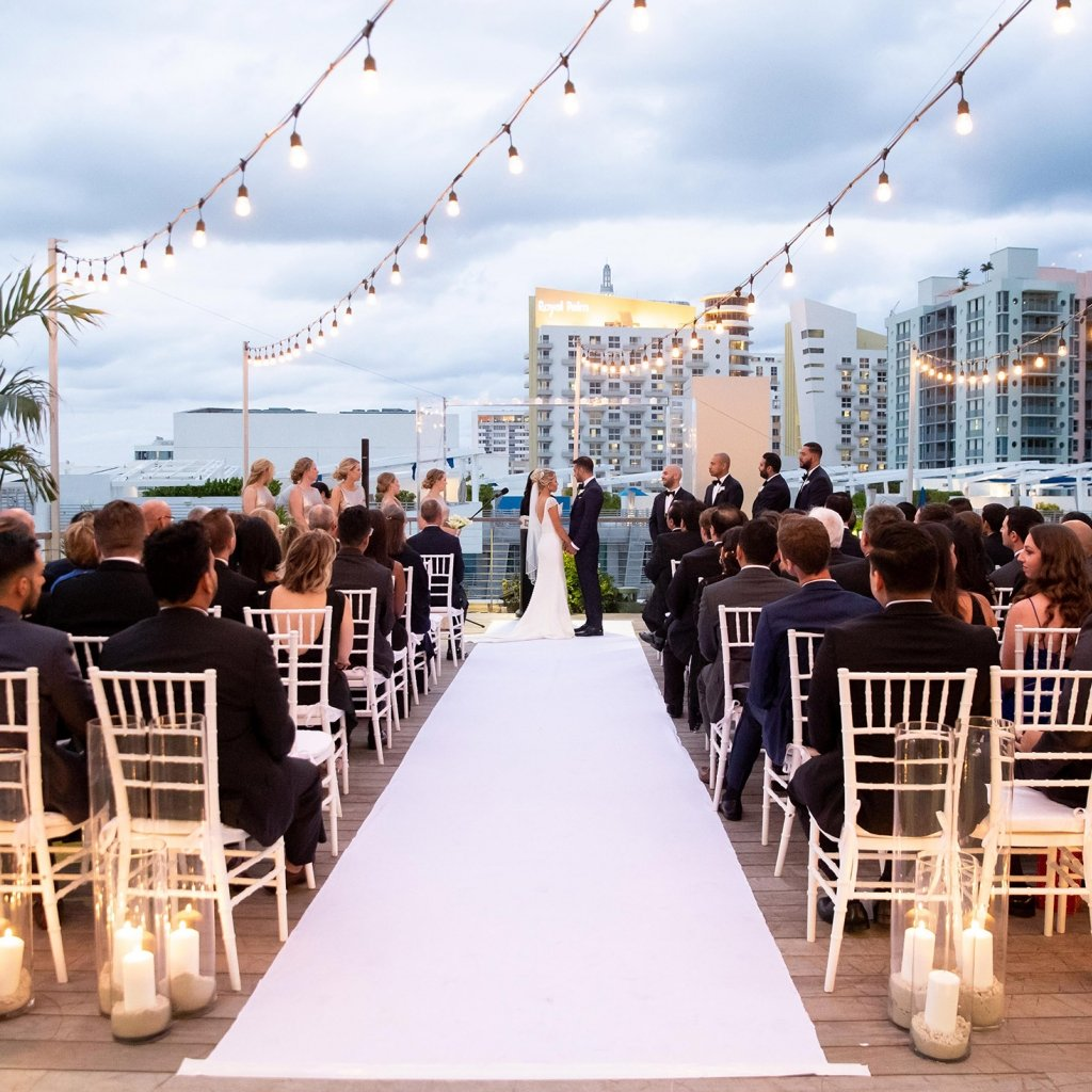 Roof Wedding