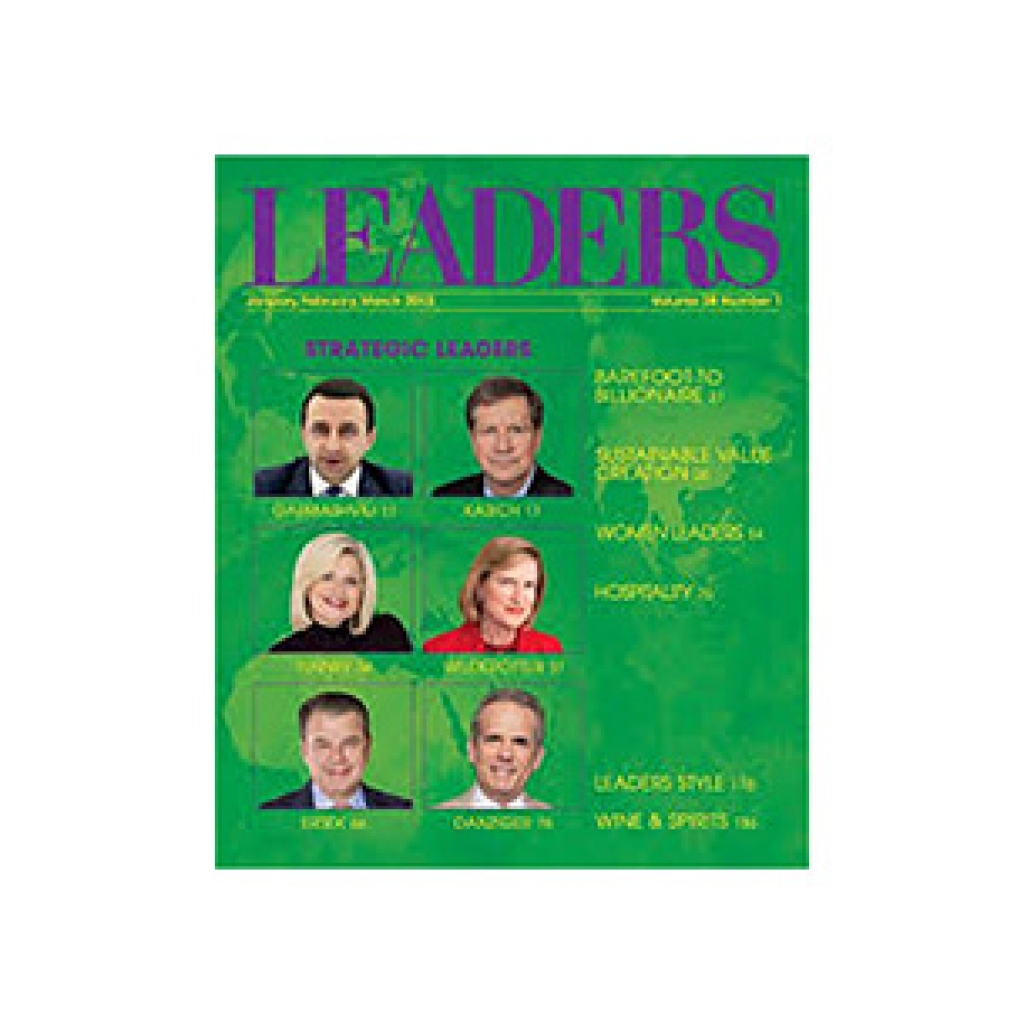 cover of leaders magazine