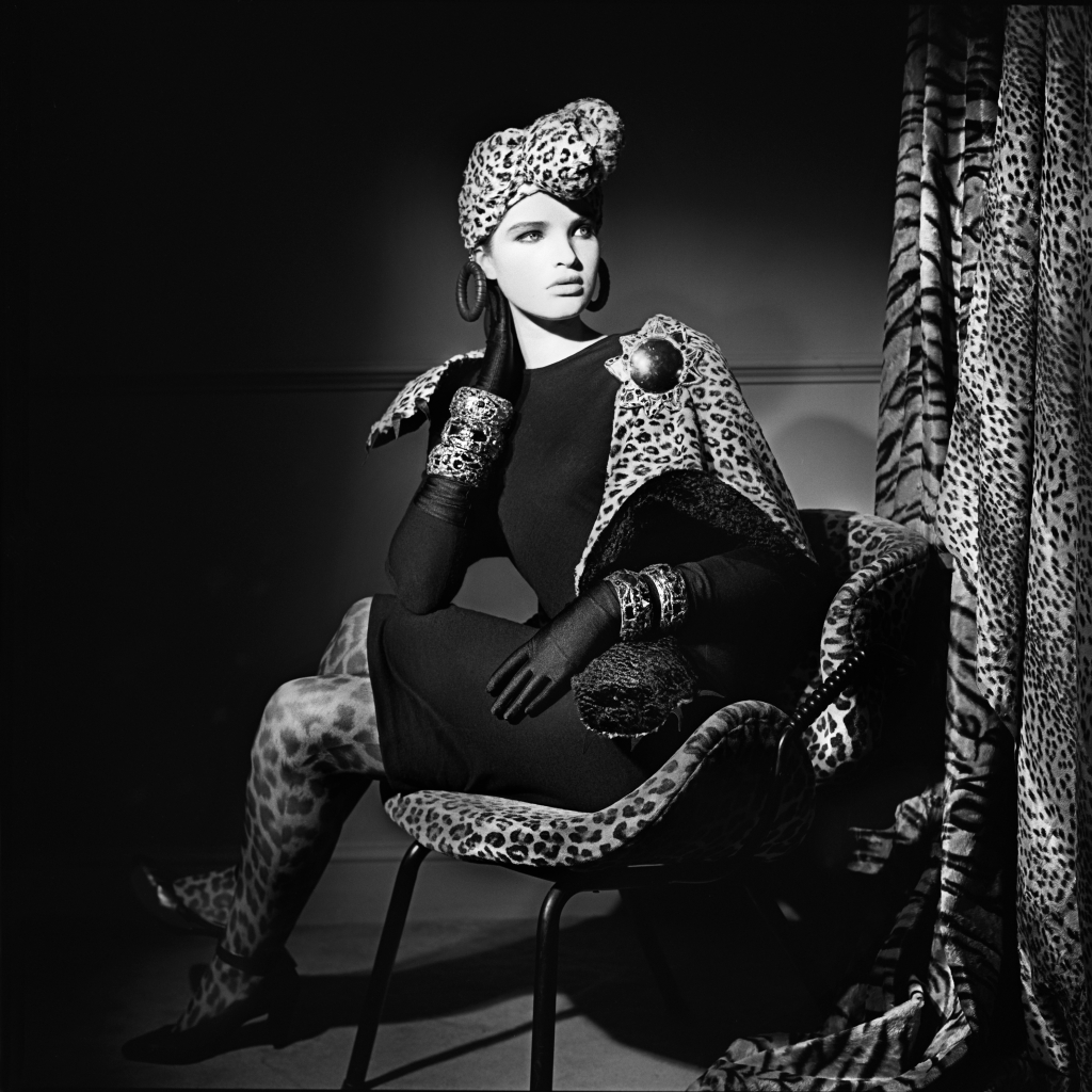 Barbara Hulanicki Model in Leopard-Knot Turban.jpg