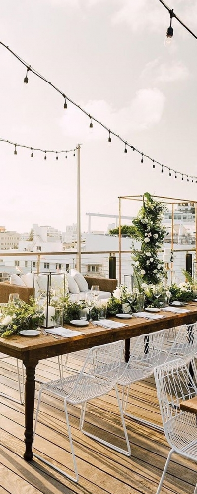 rooftop wedding miami