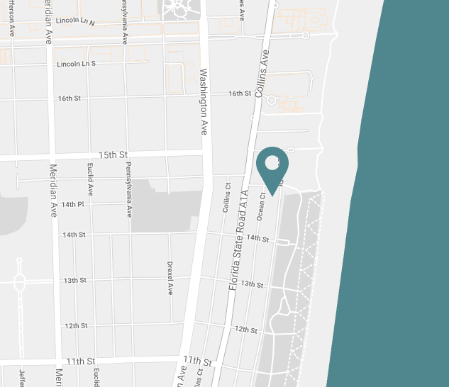 Explore South Beach - Map